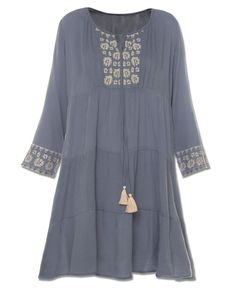 Tiered Kurta Dress