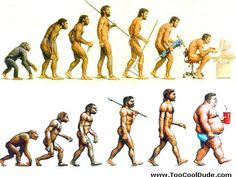 Epigenetics: a window within which Lamarckian evolution can operate-by Edward Benjamin Ziff – Neurociências em Debate Steampunk Illustration, Man Illustration, Human Evolution Tree, Darwin Theory, Good Cartoons, Growth And Decay, Satirical Illustrations, Historia Natural, Theory Of Evolution