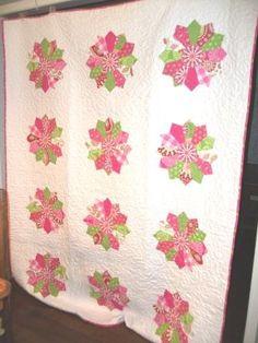 Dresden plate quilt #quilt #Dresden #sew