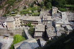 Bard in Aosta Valley, Italy