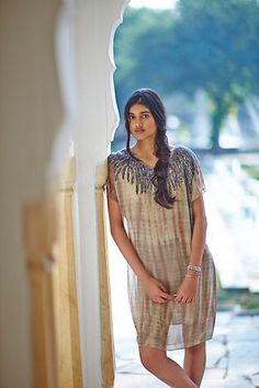 Raina Tunic Dress #anthropologie