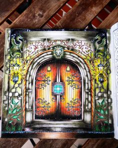 Door enchanted forest