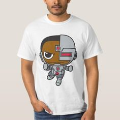 Shop Mini Cyborg T-Shirt created by justiceleague. Personalize it with photos & text or purchase as is! Super Hero Shirts, Japanese Toys, Customized Gifts, Custom Gifts, Shoulder Taping, Justice League, Rib Knit, Fitness Models, Superhero