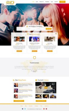 Create  THE BEST Looking Dating Website for