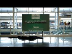 Heineken: The Airport Departure Roulette Game - http://www.creativeguerrillamarketing.com/guerrilla-marketing/heineken-the-airport-departure-roulette-game/