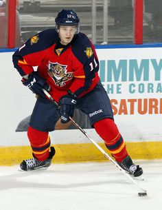Panthers vs. Hurricanes - 01 19 2013 - Florida Panthers - Jonathan Huberdeau 642eca01f