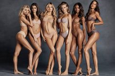 New Victoria's Secret Sexy Illusion collection designed to look good from all angles like a second skin so that the intimate piece is not visible even under the most comfortable outfit.