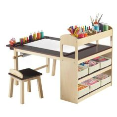 The Ultimate Craft Table Sayuri needs this! @ DIY Home Design