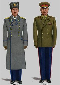 Soviet Army Uniforms 3 by Peterhoff3 on DeviantArt