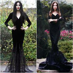 morticia addams real dress - Google Search