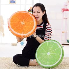 Use as bolster ,sofa-cushion ,back and head pillow or to fill up any part of body you need to relax. Very cute fruit shape,you can't help love it. Cushion Pillow, Throw Pillow Covers, Throw Pillows, Fruit Birthday, Cute Fruit, Cushions On Sofa, Home Textile, Plush