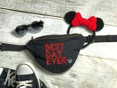 Best Day Ever Fanny Pack – Disney Fanny Pack – Belt Bag - Popular Disneyland Vacation, Disney Trips, Disney College, Disney Travel, Disney Parks, Disney Pixar, Disney World Outfits, Disney Fashion, Disney Bachelorette