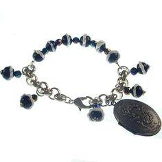 beaded style&locket photo charm bracelets wholesale,7.5 inch JB01-0148 : OK Charms, China Wholesale Jewelry Accessories Marketplace
