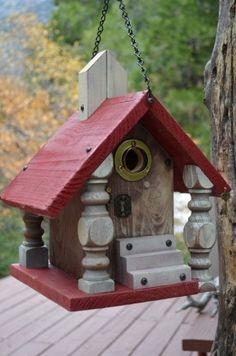 Old World Church Birdhouse