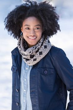 """""""Morse,"""" by Michele Wang, knit with Brooklyn Tweed Shelter. Knit Cowl, Knitted Shawls, Online Yarn Store, Brooklyn Tweed, Barnet, How To Purl Knit, Knitting Accessories, Neck Warmer, Hand Crochet"""
