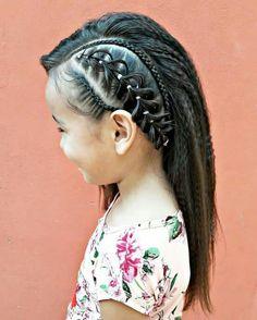 Ideas Braids For Girls Black For Kids Cornrows Baby Girl Hairstyles, Braided Hairstyles, Teenage Hairstyles, Natural Hair Styles, Long Hair Styles, Girls Braids, Toddler Hair, Great Hair, Hair Dos