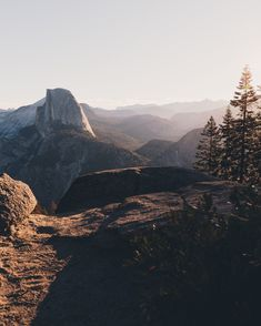 Glacier Point, Yosemite at Sunrise