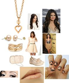 """""""Movie premeire with sel: 4 amy-sukhavanij"""" by tommotomlinson1 ❤ liked on Polyvore"""