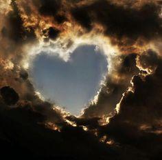 Wat een prachtig hart uit de hemel