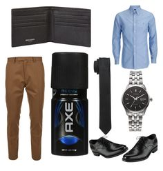 """""""Business Casual-Mens"""" by kayla-wilburn-1 on Polyvore featuring Valentino, Citizen, Yves Saint Laurent, Dolce&Gabbana, men's fashion and menswear"""