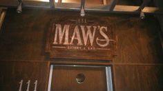 Maw's front door