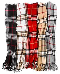 John Ashford Scarf, Classic Plaid - Hats, Gloves & Scarves - Macy's