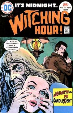 The Witching Hour #53  DC comics  April 1975  $.25