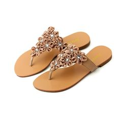 flipflops for women   ... Flowers Cluster Flip Flops Sandals for Women - Sandals & Flip Flops
