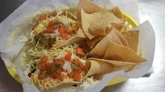 On #TacoTuesday order #twotacos of your choice #chips and a #drink for only $6.99! #dostacos #tacotwosday