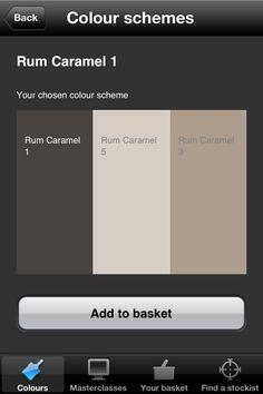 Dulux colour scheme Rum caramel 1
