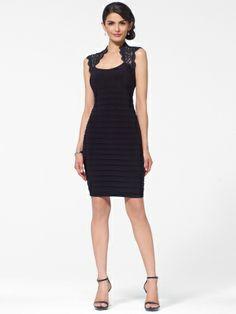 Black lace cap sleeve dress – Dress ideas