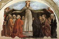 Domenico ghirlandaio, madonna della misericordia, ognissanti, Firenze - Domenico Ghirlandaio - Wikipedia