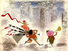 Cartoon Modern :: Ward Kimball