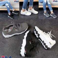 Sepatu Fila Sneakers 6918  Heel 4cm Bahan Kulit ef2835aeba