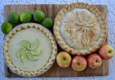 Key Lime Pie and North Carolina State Fair Blue Ribbon Apple Pie!