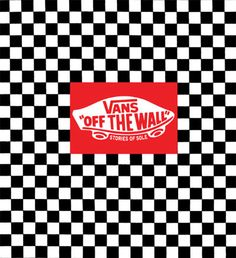 Vans Wallpaper: Vans: Off the Wall : Stories of Sole from Vans Originals Iphone Wallpaper Vans, Tumblr Wallpaper, Wall Wallpaper, Wallpaper Backgrounds, Nike Wallpaper, Homescreen Wallpaper, Vans Logo, Wallaper Iphone, Checker Wallpaper