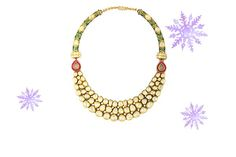 For the jewellery junkie  Zoya Jewels of the Rajputana Collection  We love: the one of a kind enamel work in splendid colours, with kundan and polki settings.