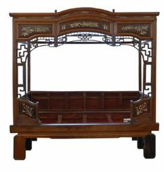 ADB101 - Beijing Opium Bed Chinese Porcelain , Art , Jade , Glass, Wood and Antiques : More At FOSTERGINGER @ Pinterest