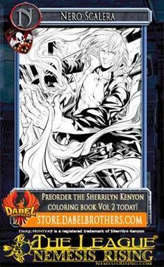 The League series/Sherrilyn Kenyon coloring book