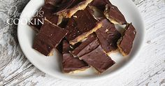 Making toffee from Saltine crackers is easy! This Saltine toffee recipe only uses 4 ingredients and makes a great edible Christmas gift.