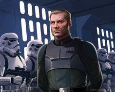 Da da da dum de da dum de da.... Done for Fantasy Flight Games' Star Wars Age Of Rebellion Lead by Example Sourcebook for Commanders. Art directed by Zoë Robinson.© 2016 Lucasfilm, L...