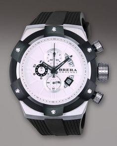 Brera Black 48mm Supersportivo Watch