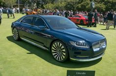 Lincoln Continental Concept. With the weight of an entire brand on its shoulders, the Continental concept arrived at the 2015 New York auto show with a flourish, and its Mad Men-esque demeanor keeps hopes high for a return to true luxury for Lincoln.