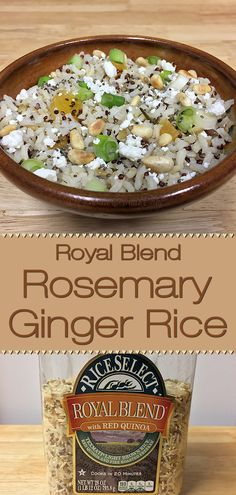 Royal Blend Rosemary Ginger Rice - Foodie Home Chef