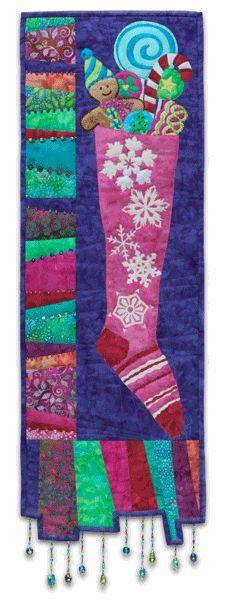 """""""Stocking Up"""" by McKenna Ryan at Pine Needles Quilt Designs"""