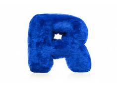 Plush pillow – letter R