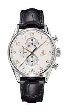Швейцарские часы TAG Heuer Carrera CAR2012.FC6235 Модель входит в коллекцию Carrera. Это великолепные Мужские часы. Материал корпуса часов — Сталь. Ремень — Кожа. Стекло - Сапфировое. Водозащита этих часов 100 м. Доставка по России. Geo Russia. #vintage #technology #outerspace #gadgets #shoes #watch #часы #гаджеты #технологии #дизайн
