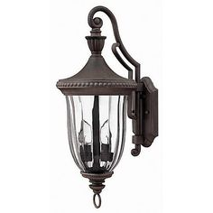 Hinkley Lighting Oxford Medium Wall Outdoor Lantern