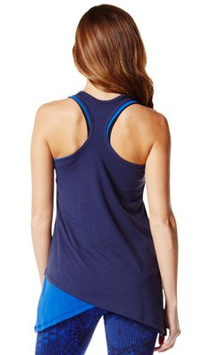 a3471454d4 Two-Tone Long Loose Zumba Tank - Zumba Clothing Zumba Clothing Shop