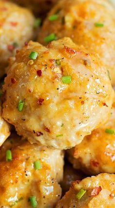 Orange Chicken Meatballs - needs a few adjustments for paleo